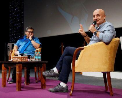 Anupam Kher and Subhash Ghai