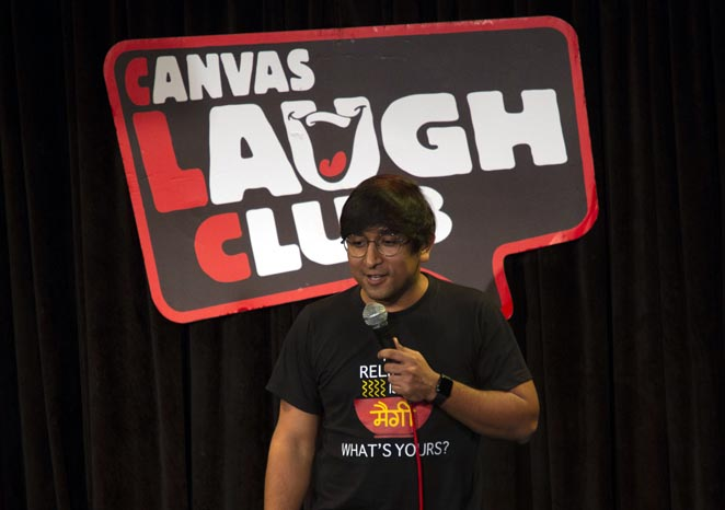 Appurv Gupta - At Canvas Laugh Club