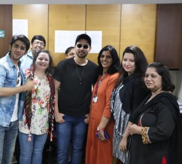 Armaan Malik at UPG college