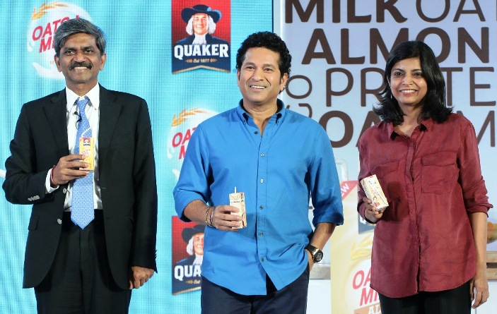 D. Shivakumar, Chairman, PepsiCo India and Deepika Warrier