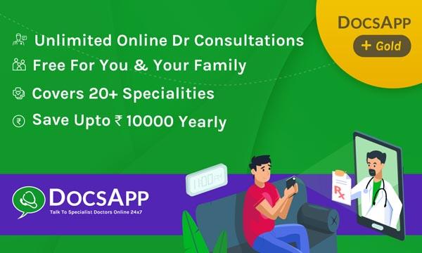 DocsApp Gold Health Card