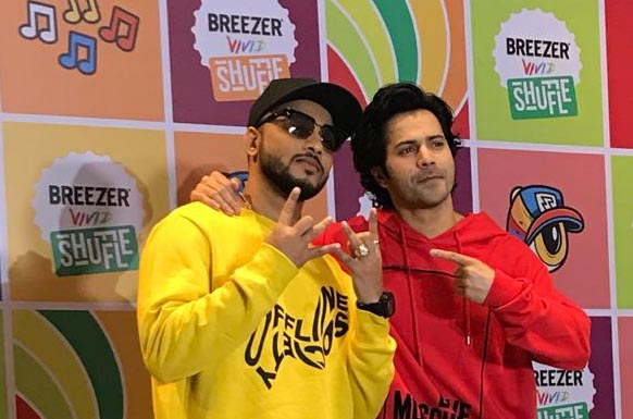 HIP-HOP Dance Festival Breezer Vivid Shuffle Season 2 Grand Finale Happing in Famous Studio, Mumbai at 13 Oct 2018 and Winners Gear up to hip-hop in a video with Varun Dhawan and Raftaar 2