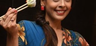 Sushi food festival celebration with  Actress Hrishitaa Bhatt  at Ruka Japanese Restaurant & Lounge