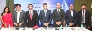 L to R - Prerna Aggarwal, Ajay Chugh, Rahul Mehta, Tasos Stavrou, Antonis Pisharas and Sunil Goyal