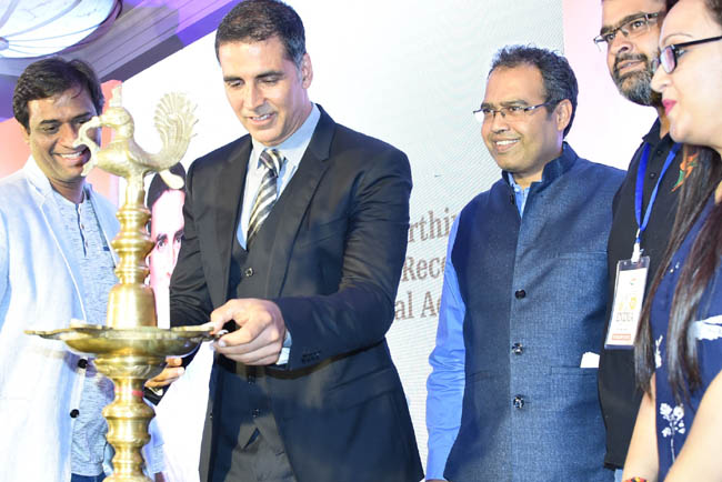 Launch of the New India Conclave by Brand Ambassador Akshay Kumar with M...