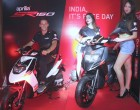 Aprilia now in India with SR 150 – the country's first sporty crossover 150cc gearless bike