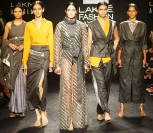 MODELS FOR NIKITA MHAISALKAR @ LFW WF 2017