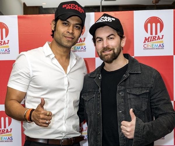 Neil Nitin Mukesh With Amit Sharma MD Miraj Cinemas 1