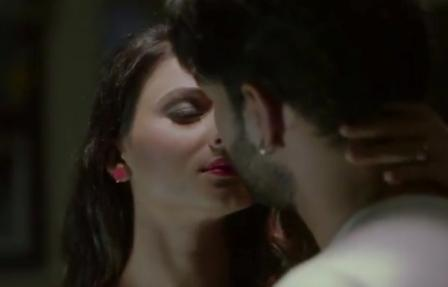 Sezal Sharma kisses Yuvraj Parashar2
