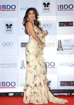 Shilpa Shetty at the asiaSpa awards