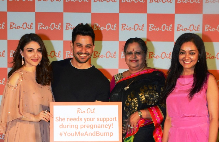 Soha Ali Khan Kunal Khemu Dr. Kiran Coelho and Dr. Rashmi Shetty at the Bio Oil #YouMeAndBump Event for Mother's Day